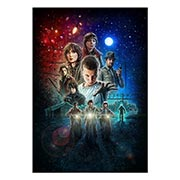 Портретный постер Stranger Things